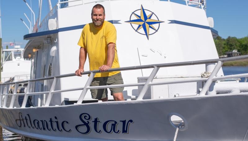 Meet Myrtle Beach 100 Ton Charter Boat Captain Robert Taylor - Capt, Owner, Operator Calabash Fishing Fleet
