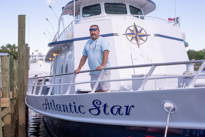 Meet Charter Boat Captain Danny of the Atlantic Star a Famous Deep Sea Fishing Charter Boat in Myrtle Beach