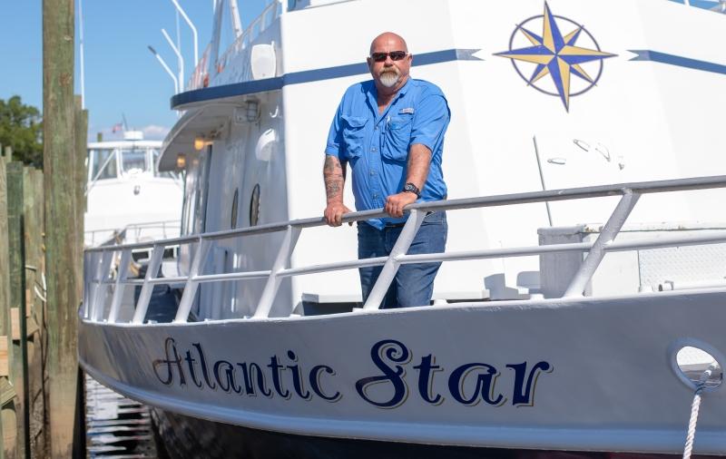 Meet Sharky Hurricane Fishing Fleet Dolphin Tour Founder